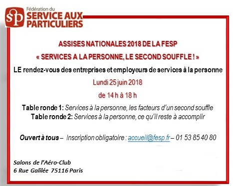 Assises Nationales 2018 de la FESP