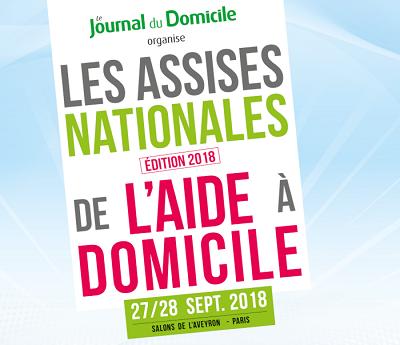 8èmes Assises Nationales de l'Aide à Domicile – 27/28 septembre 2018