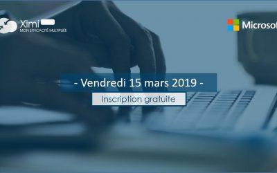Journée Ximi-Microsoft le 15 mars