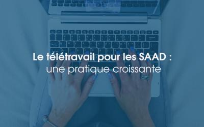 Le télétravail pour les SAAD : une pratique croissante
