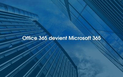Office 365 : changement de nom