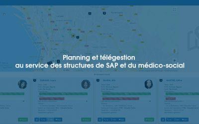 Planning et télégestion au service des structures de SAP et du médico-social